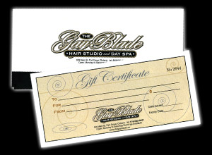 The Gay Blade Gift Certificate